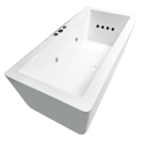 Angulo 1500mm 12 Jet Spa Bath