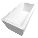 Angulo 1500mm Bath