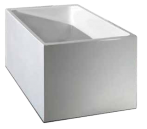 Ataud 1350mm Slimline Bath