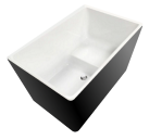 Cubica 1050mm Bath (with raised seat)