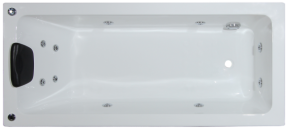 Alpha 1490mm 06 Jet Spa Bath (without tiling bead)