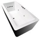 Angulo 1700mm 12 Jet Spa Bath