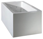 Ataud 1520mm 12 Jet Spa Bath